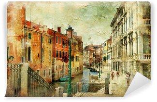Vinylová Fototapeta Obrazové ulicích Benátek. umělecký obraz