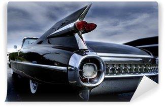 Vinylová Fototapeta Ocas lampa klasické auto