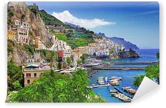 Vinylová Fototapeta Ohromující pobřeží Amalfi. Itálie