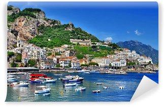 Vinylová Fototapeta Ohromující pobřeží Amalfi, Itálie