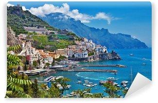 Vinylová Fototapeta Ohromující pobřeží Amalfi v Itálii
