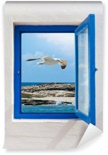 Vinylová Fototapeta Okno do moře