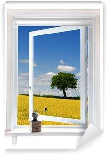 Fototapeta Winylowa Okno z widokiem