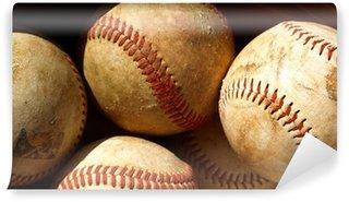 Vinylová Fototapeta Old baseball