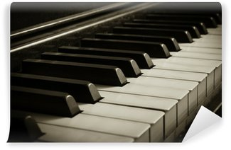 Vinylová Fototapeta Old Piano