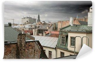 Vinylová Fototapeta Old Riga střechy, Lotyšsko