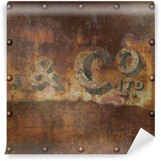 Vinylová Fototapeta Old Rusty Metal
