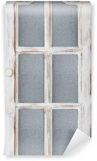 Vinylová Fototapeta Old White dveře