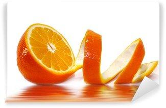Vinylová Fototapeta Oloupaný pomeranč