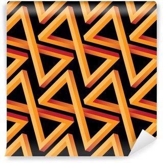 Fototapeta Winylowa Optical Illusion Seamless Pattern do hotelu, domu i Villa