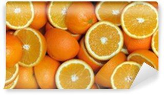 Vinylová Fototapeta Orange-2 poloviny