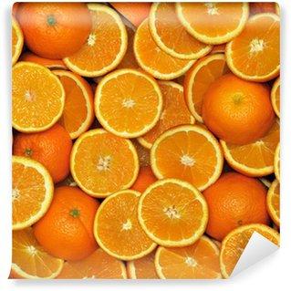 Vinylová Fototapeta Orange-polovina