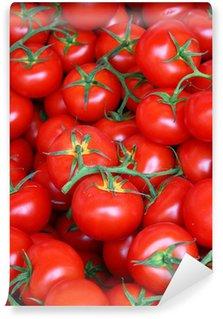 Vinylová Fototapeta Organické rajčata na trhu