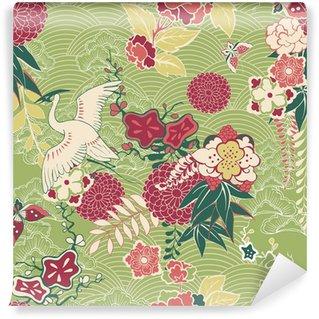 Vinylová Fototapeta Oriental hedvábí vzor