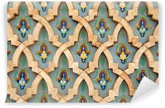 Vinylová Fototapeta Oriental Mozaiková výzdoba ve městě Casablanca, Maroko