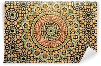 Fototapeta Winylowa Orientalne mozaiki dekoracji w Maroku