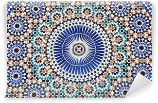 Fototapeta Winylowa Orientalne mozaiki w Maroku, Afryki Północnej