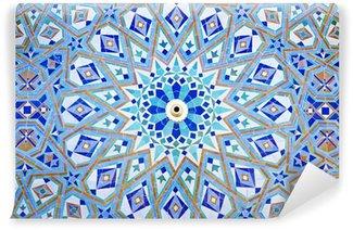 Vinylová Fototapeta Orientální Mosaic na mešity Hassan II ve městě Casablanca, Maroko