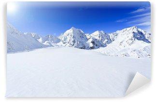 Fototapeta Winylowa Ośnieżone szczyty Alp włoskich