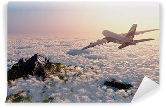 Vinylová Fototapeta Osobní letadlo