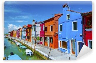 Vinylová Fototapeta Ostrov Burano, Benátky Itálie
