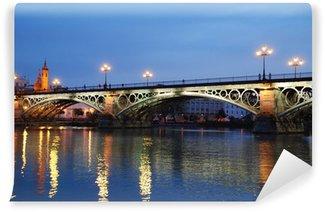 Vinylová Fototapeta PAISAJE. Puente de Triana EN SEVILLA O DE ISABEL II