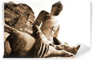 Vinylová Fototapeta Památky buddha, zříceniny v Ayutthaya starém hlavním Thajska