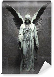Vinylová Fototapeta Památník starého anděla na hřbitově ve Varšavě