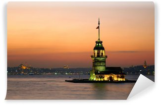 Vinylová Fototapeta Panenská věž (Kiz Kulesi). Istanbul, Turecko