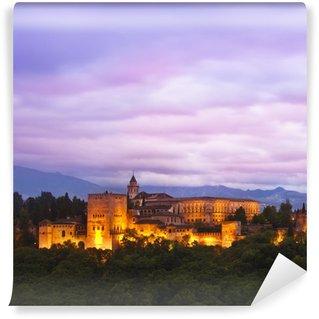 Vinylová Fototapeta Panorama Alhambra, Granada, Španělsko