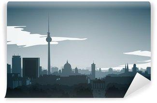 Vinylová Fototapeta Panorama-Berlin-Mitte-finále