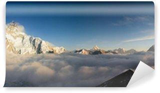 Vinylová Fototapeta Panorama Everst a Nuptse z Kala Patthar