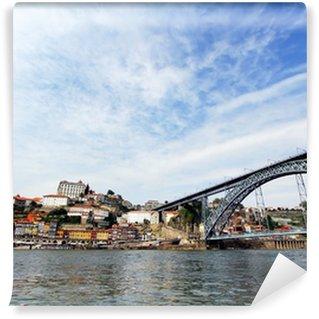 Vinylová Fototapeta Panorama historického města Porto, Portugalsko