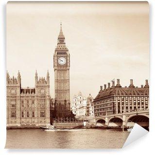 Vinylová Fototapeta Panorama londyn