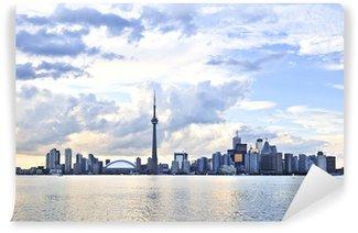 Vinylová Fototapeta Panoráma města nábřeží Toronto v pozdním odpoledni