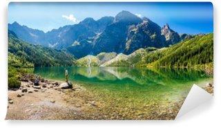 Vinylová Fototapeta Panorama Morskiego Oka