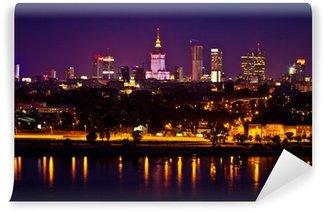 Vinylová Fototapeta Panorama Varšavy