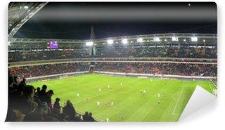 Vinylová Fototapeta Panorama z fotbalového stadionu