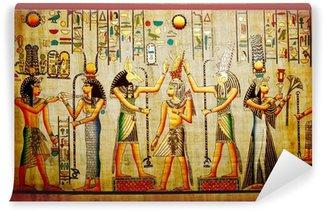 Fototapeta Winylowa Papirus starych papieru naturalne z Egiptu