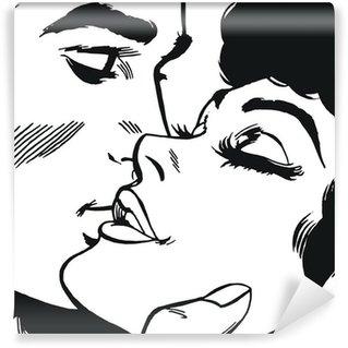 Vinylová Fototapeta Pár v lásce