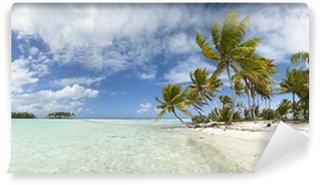 Vinylová Fototapeta Paradise beach panoramatický výhled