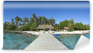 Vinylová Fototapeta Paradise island panoramatický výhled