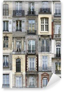 Vinylová Fototapeta Paříž okna