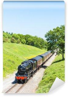 Vinylová Fototapeta Parní vlak, Gloucestershire Warwickshire železnice, Gloucestershi
