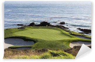 Vinylová Fototapeta Pebble Beach Golf Course, Monterey, Kalifornie, USA