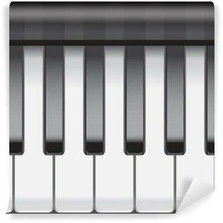 Vinylová Fototapeta Piano pozadí klíč