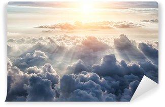 Fototapeta Winylowa Piękne niebieskie niebo