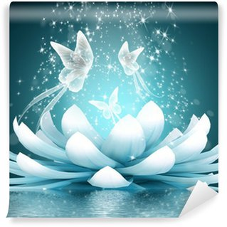 Fototapeta Vinylowa Piękny kwiat lotosu