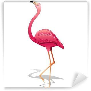 Vinylová Fototapeta Pink Flamingo-Fenicottero Rosa-Vector