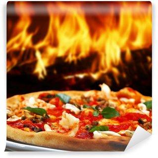 Vinylová Fototapeta Pizza mořské plody